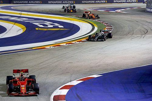 Estadísticas: Ferrari hizo historia en Singapur 2019