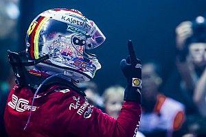 Vettel győzelme Szingapúrban a Ferrarival: régóta várt rá (videó)
