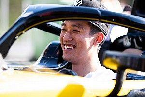Guanyu Zhou Impikan Cina Tuan Rumah Formula 2