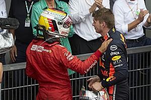 """Verstappen: """"Özel hayatım konusunda Hamilton'dan çok Vettel'e benziyorum"""""""