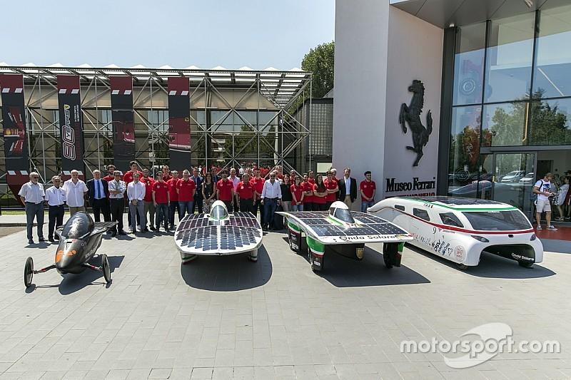 """Museo Ferrari: mostra temporanea delle vetture """"Solar Challenge"""""""