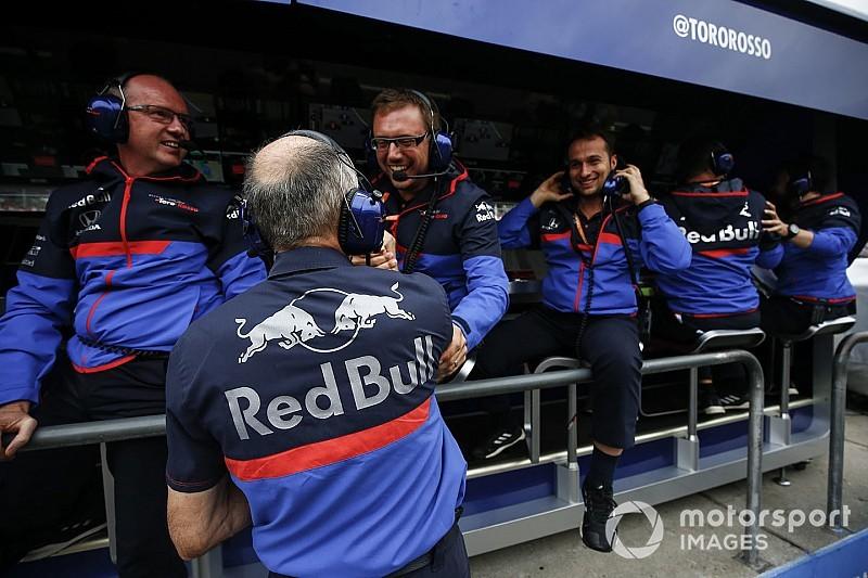 A Toro Rosso szerint az ötödik hely megcsíphető