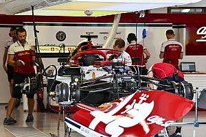 Alfa Romeo: telaio e freni evo per Raikkonen