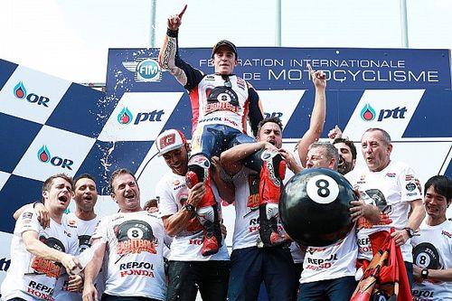 Márquez: Foi como sonhei, campeão e com vitória