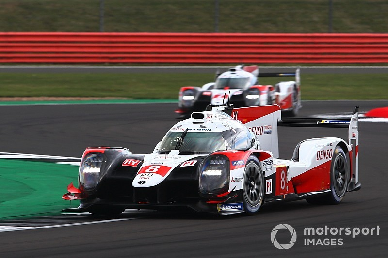 Toyota used team orders three times at Silverstone