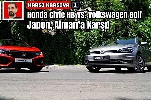 Honda Civic HB vs. Volkswagen Golf | Japon, Alman'a Karşı! | Karşı Karşıya