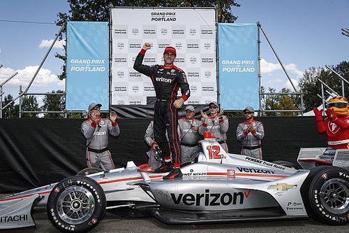 IndyCar Portland: Power wint, Newgarden dichter bij titel