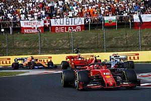 Leclerc ha evitato penalità grazie alle immagini dall'elicottero
