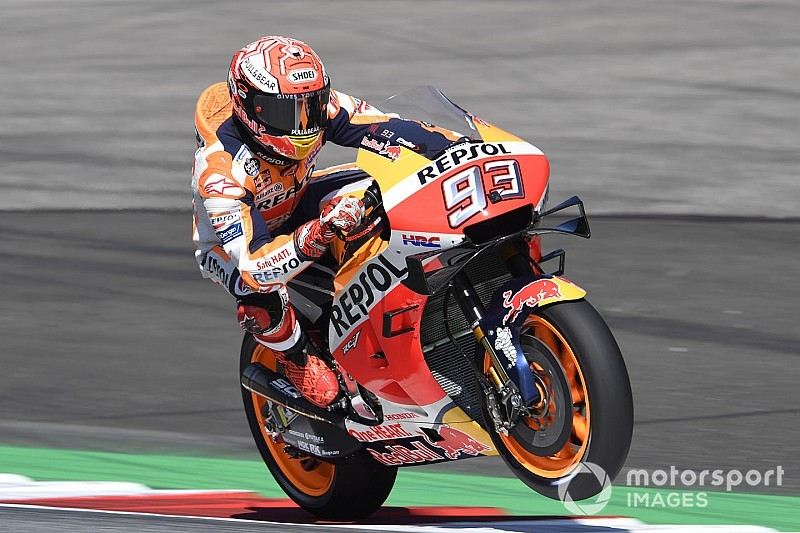 Red Bull Ring MotoGP: Marquez beats Vinales by 0.066s in FP2