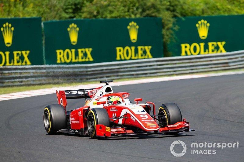 F2: Schumacher vence corrida 2 na Hungria e Sette Câmara é 3º