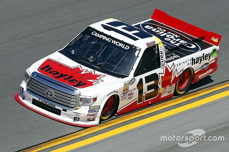 Disappointing race for Calgary's Cameron Healey in Daytona