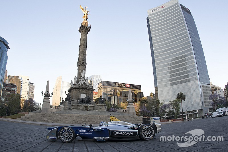 La Fórmula E en las calles de la Ciudad de México