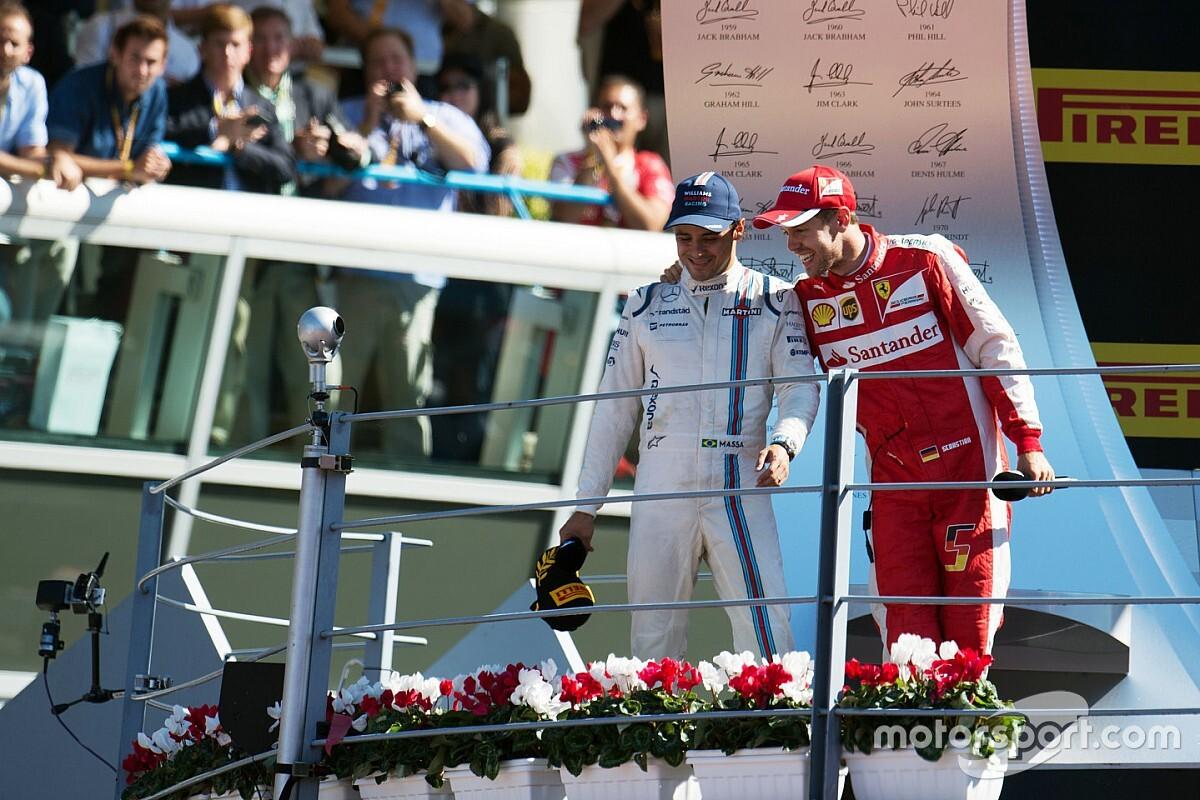 """Massa: """"Vettel'in F1'deki zamanı geride kaldı"""""""