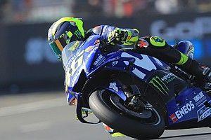 VIDEO: Valentino Rossi kecelakaan di FP4 MotoGP Prancis