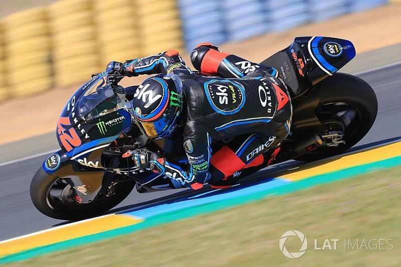 Le Mans Moto2: Bagnaia takes lights-to-flag win