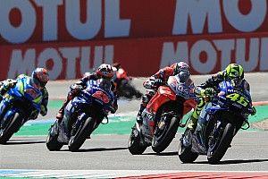 Gagal podium, Rossi salahkan Dovizioso