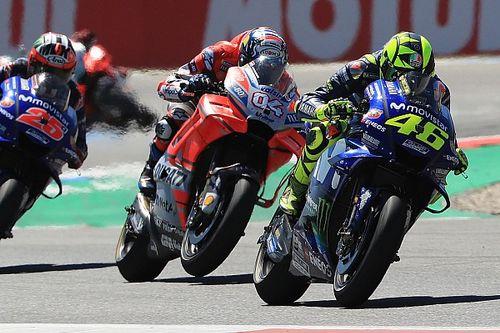 Valentino Rossi ist überzeugt: Dovizioso hat das Podium gekostet