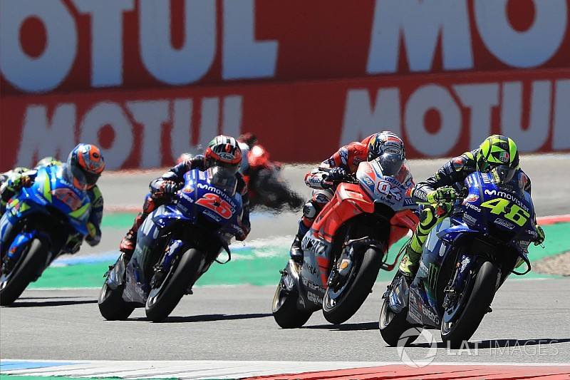 "Rossi: ""Not clever"" Dovizioso cost me Assen podium"