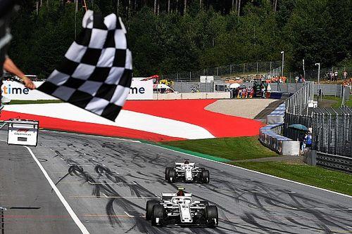 Fotogallery: l'Alfa Romeo Sauber nel Gran Premio d'Austria
