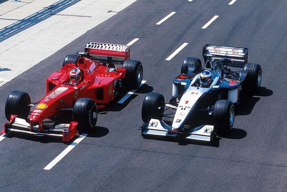 McLaren had geheime onderhandelingen met Michael Schumacher in 1998