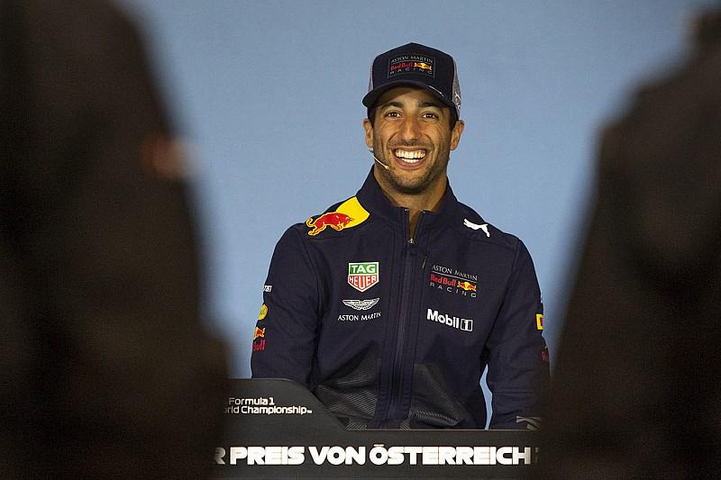 Ricciardo: Avusturya için podyum hedeflemek daha gerçekçi