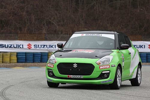 Suzuki Swift RS 1.0: la sostenibile leggerezza dell'essere nei rally