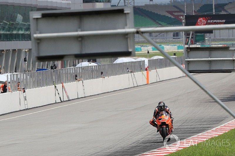 """Kallio s'attendait à des KTM """"plus rapides"""" aux essais de Sepang"""