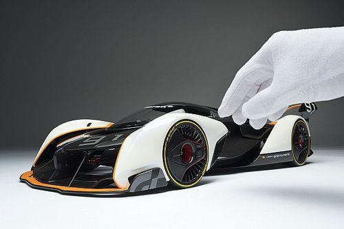 Amalgam Collection bringt McLaren-Designstudie als Modell heraus