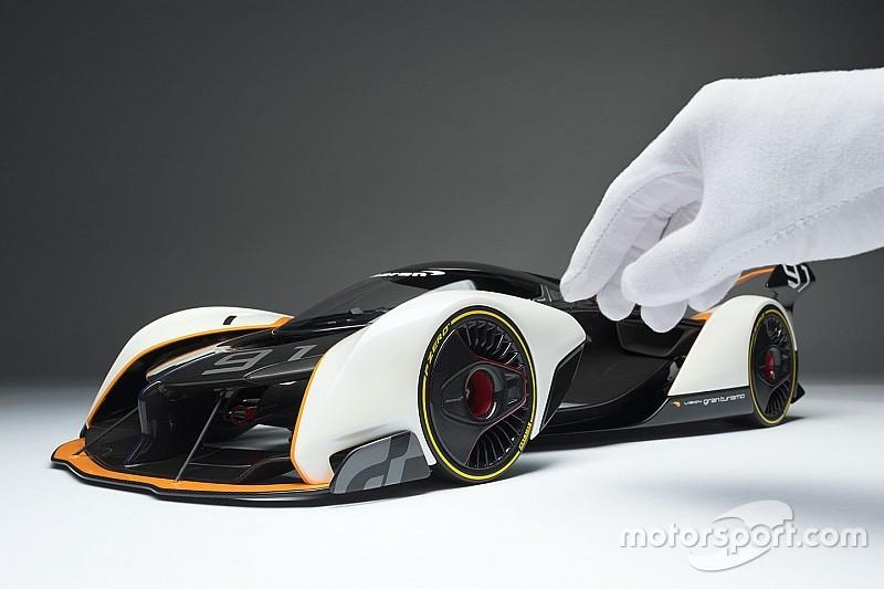Amalgam trasforma la McLaren Ultimate Vision GT da virtuale a reale