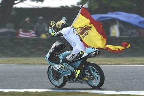 "MotoGP stars hail ""smartest"" Moto3 champion Mir"
