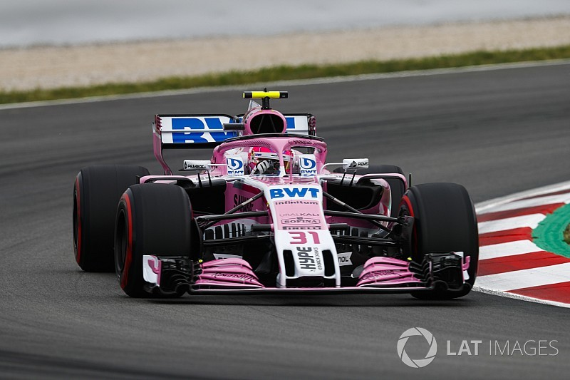 Ocon's Mercedes engine survives for Monaco