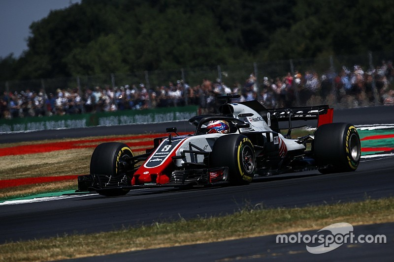 Haas s'installe en quatrième ligne, Grosjean a été prudent