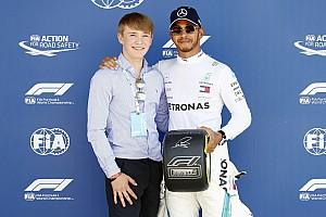 Потерявший ноги Монгер намерен попасть в Формулу 1 без помощи Хэмилтона