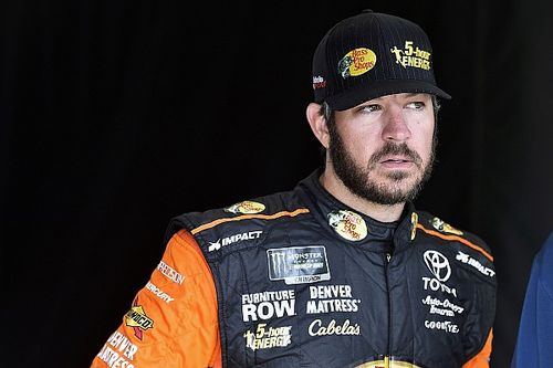 "Truex admits Harvick in ""his own zip code again"""