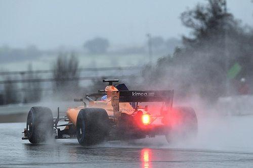 Barcelona testleri 3. gün - Yağmurlu/karlı günün lideri Alonso!