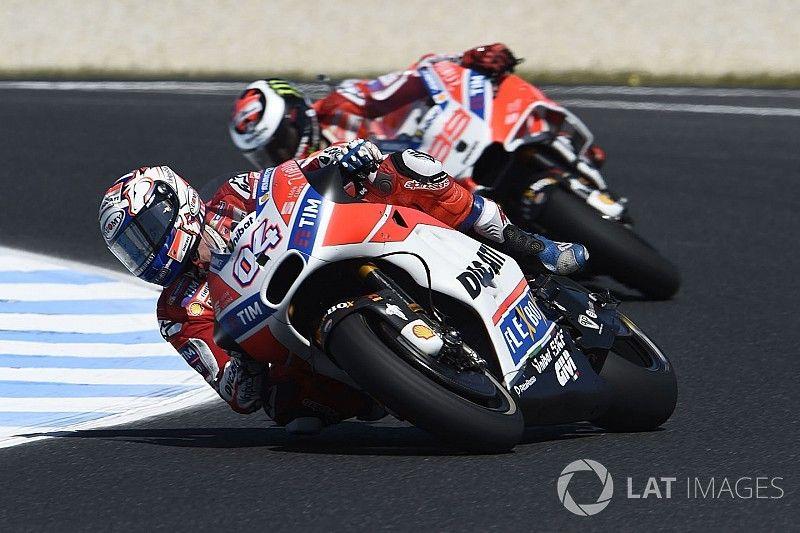 Dovizioso, bugünki hızının Marquez için yeterli olmamasından korkuyor
