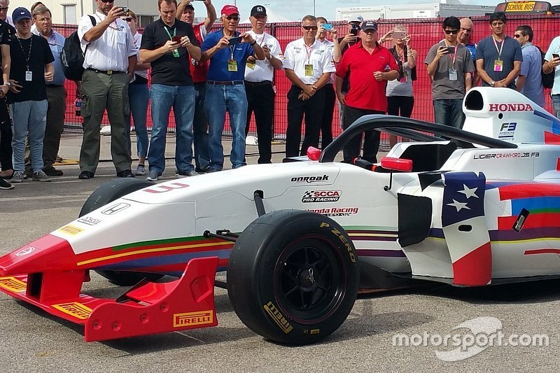 Seri F3 All Americas diluncurkan dengan halo kokpit