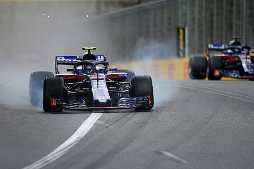 """Gasly: Hartley near miss """"scariest moment of my career"""""""