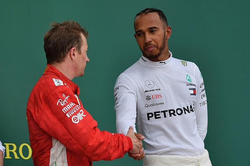 """Hamilton accetta le scuse di Kimi: """"A volte a caldo diciamo stupidaggini"""""""