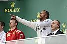 Hamilton herda vitória em GP frenético no Azerbaijão
