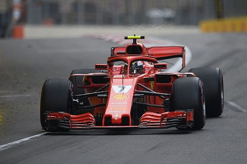 Raikkonen a threat if Ferrari rolls dice - Mercedes