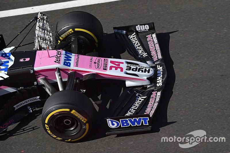 Williams ve Force India'nın 2019 için planladığı ön kanat ortaya çıktı!