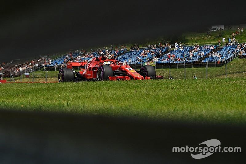 法拉利赛车最快,但维特尔失去先手