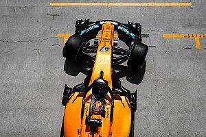 Norris pályára gurul a Belga Nagydíjon a McLarennel, Alonso helyén