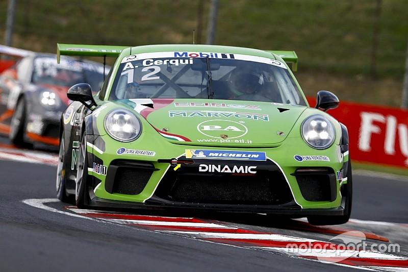 Alberto Cerqui pronto per la sfida di Spa-Francorchamps con la Dinamic Motorsport