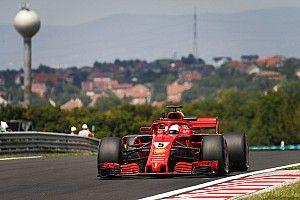 EL2 - Vettel et Verstappen restent dans un mouchoir