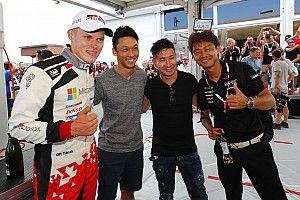 「レースとは全く別物」中嶋一貴&小林可夢偉、WRC初観戦に衝撃