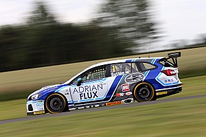 BTCC Race report Croft BTCC: Sutton converts pole to first 2018 win