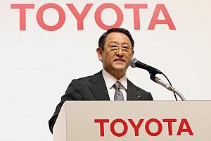 WEC Ultime notizie L'omaggio del presidente Toyota alla Porsche