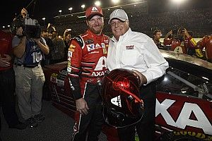 Dale Jr.'s full-time NASCAR career ends with impromptu party